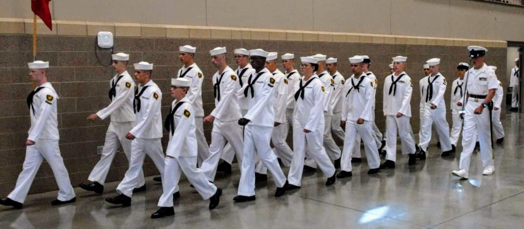 Sea Cadet graduation from two-week Recruit Training